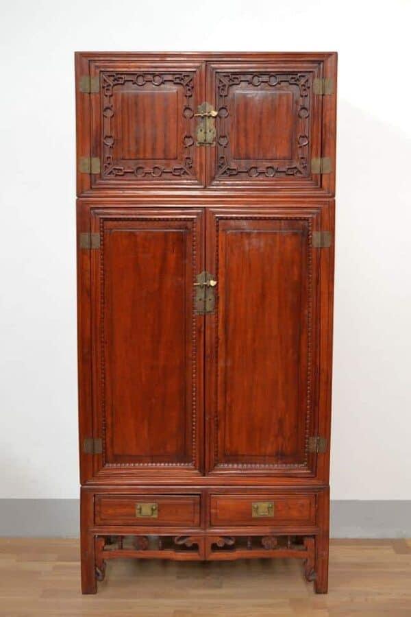 Armadio-antico-cinese-in-mogano-doppio-corpo-1890_1